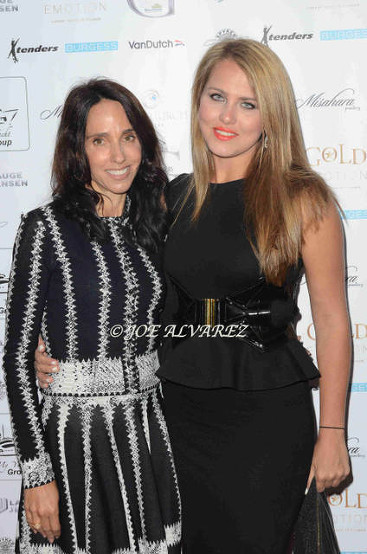 Veronica Voronina (R) with Lepa Galeb Roskoop Misahara Jewellery Aboard My Yacht Monaco party © Joe Alvarez