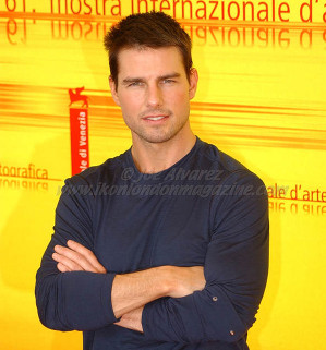 Tom Cruise at the Venice Film Festival © Joe Alvarez