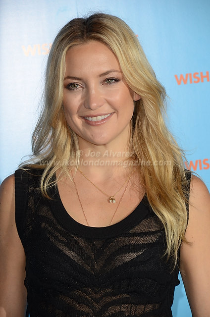 Kate Hudson at the London press call of Wish I Was Here © Joe Alvarez