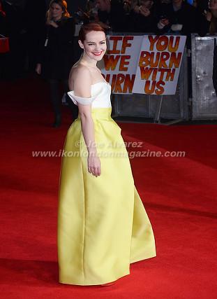 """Jena Malone at the London premiere of The Hunger Games """"Mockingjay - Part 1"""" © Joe Alvarez"""