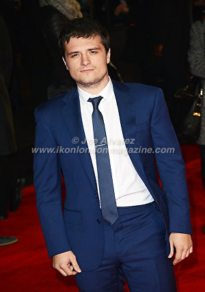 "Josh Hutcherson at the London premiere of The Hunger Games ""Mockingjay - Part 1"" © Joe Alvarez"