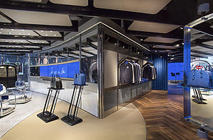 Luxury goods at the Bugatti lifestyle store