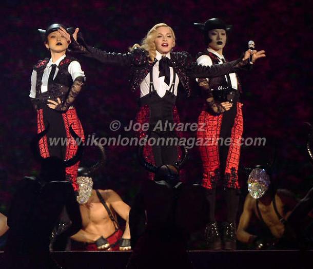 Madonna BRIT Awards 2015 © Joe Alvarez