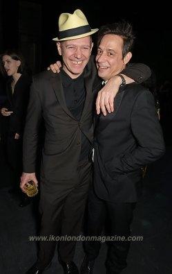 Paul Simonon (L) and Jamie Hince Alexander McQueen: Savage Beauty Fashion Gala