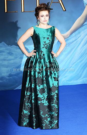 Helena Bonham Carter arrives at Cinderella London Premiere © Joe Alvarez