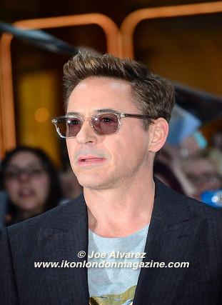 Robert Downey Jr arrives at the Avengers: Age Of Ultron UK Premiere © Joe Alvarez