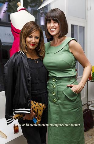 Caroline Flack & Dawn O'Porter