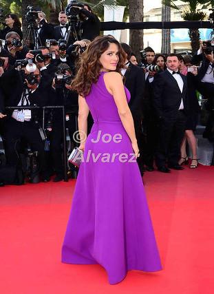 Salma Hayek 68th Cannes Film Festival © Joe Alvarez