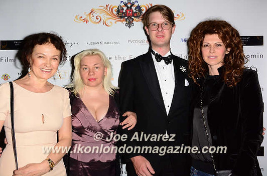 Marina Alyabusheva, Helena Bubnova, Rostislav Romanov, Regina Myannik The Russian Royal Charity Screening of the historical film 'Gentlemen Officers: Save the Emperor' at the Grand Ballroom of Luxury Hotel