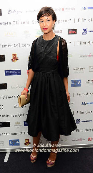 Nia Jacob The Russian Royal Charity Screening of the historical film 'Gentlemen Officers: Save the Emperor' at the Grand Ballroom of Luxury Hotel