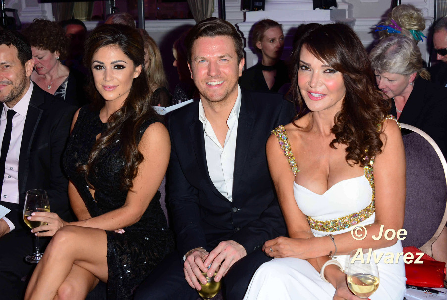 Sam Dowler, Lizzie Cundy, Casey Batchelor Inspiring Leadership Awards in London © Joe Alvarez