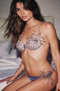 Lilly Maud Aldridge Victoria's Secret Fantasy Bra