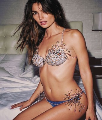 Lilly Maud Aldridge Victoria's Secret Fantasy Bra