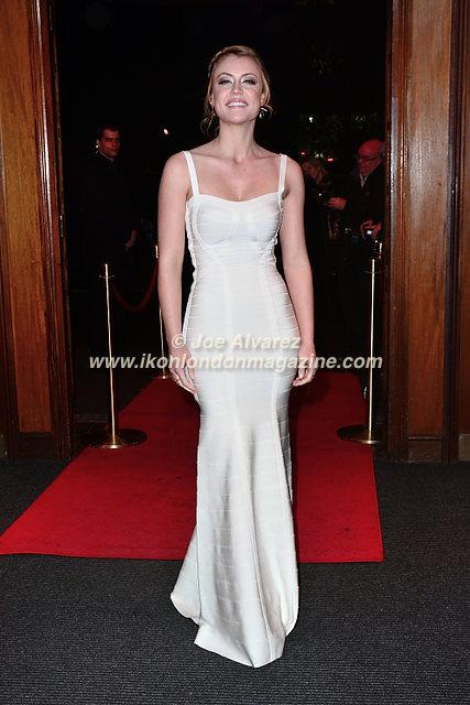 Camilla Kerslake arrives at Eastern Season Gala at Madame Tussauds © Joe Alvarez