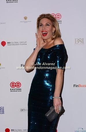 Hofit Golan arrive at Eastern Season Gala at Madame Tussauds © Joe Alvarez.jpg