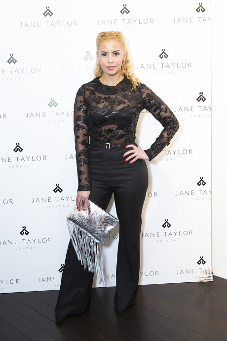 Shanie Ryan Jane Taylor Millinery store launch in Chelsea