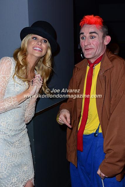 Stephanie Pratt, Clown Tweedy Cirque Berserk © Joe Alvarez