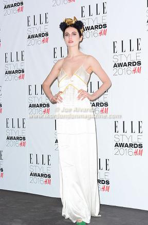 Tali Lennox Elle Style Awards 2016 © Joe Alvarez