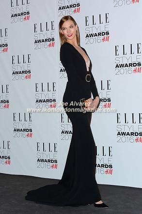 Karlie Kloss Elle Style Awards 2016 © Joe Alvarez