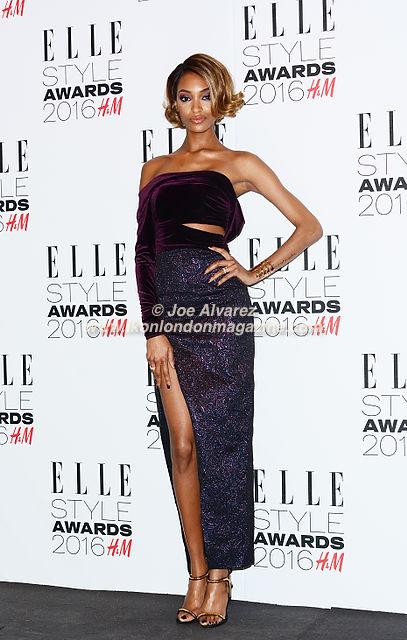 Jourdan Dunn Elle Style Awards 2016 © Joe Alvarez