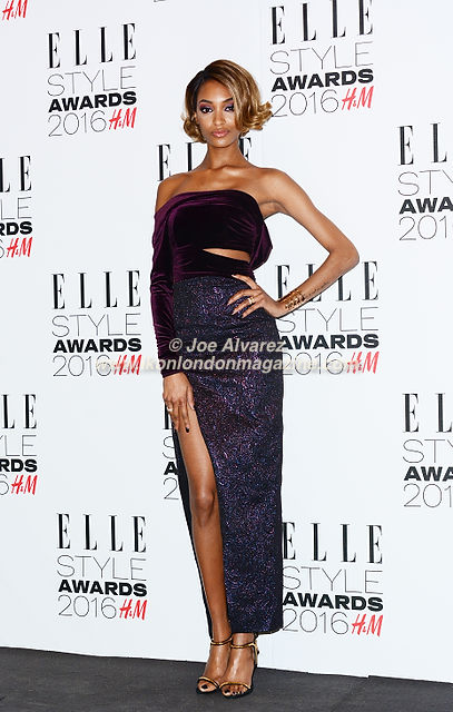 Jourdan Dunn Elle Style Awards 2016 © Joe Alvarez