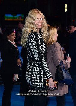 Claudia Shiffer Eddie The Eagel European Premiere © Joe Alvarez