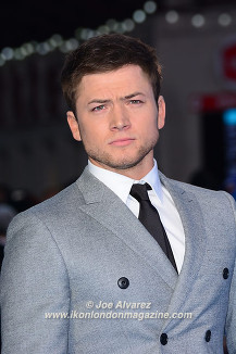 Taron Egerton Eddie The Eagel European Premiere © Joe Alvarez