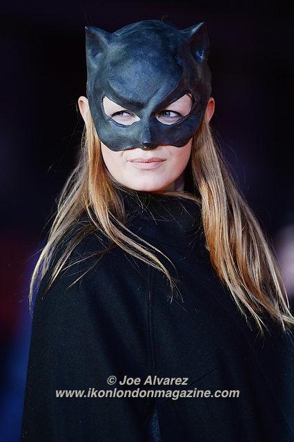 Olivia Inge attends the premiere of Batman v. Superman: Dawn Of Justice at Odeon, Leicester Square. © Joe Alvarez