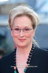 Merryl Streep at the Florence Foster Jenkins premiere © Joe Alvarez