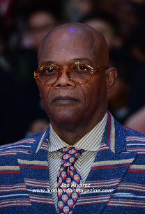 Samuel L Jackson The Captain America: Civil War London premiere © Joe Alvarez