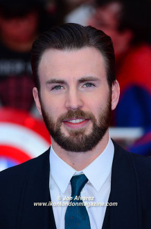 Chris Evans The Captain America: Civil War London premiere © Joe Alvarez