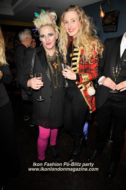 Ikon Fashion PoBlitz Party