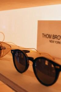 Luxury eyewear Thom Browne in London