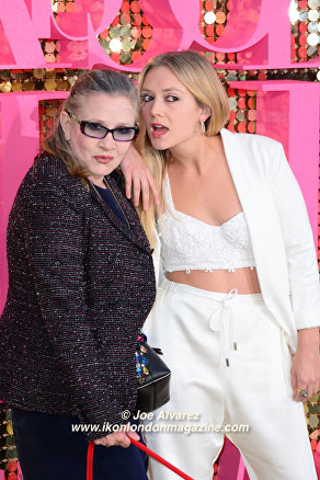 Carrie Fisher Absolutely Fabulous The Movie London Premiere © Joe Alvarez