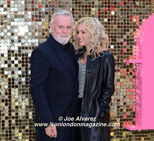 Roger Taylor and partner Absolutely Fabulous The Movie London Premiere © Joe Alvarez