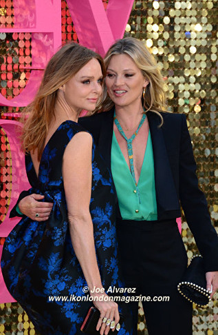 Stella McCartney, Kate Moss Absolutely Fabulous The Movie London Premiere © Joe Alvarez