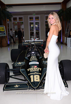 Kimberley Garner Grand Prix Ball 2016 © Joe Alvarez
