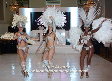 Dancers at the Safety in Beauty Awards © Joe Alvarez