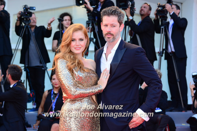 Amy Adams, Darren Gallo Nocturnal Animals Film premiere Venice Film Festival © Joe Alvarez
