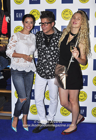 Rachel Anthony, Joe Alvarez & Tamara Orlova-Alvarez Jeans for Genes day 2016 © Gabriel Alvarez