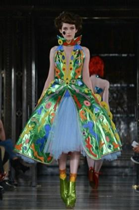 London Fashion Week: Pam Hogg SS17. hoto courtesy of POP PR