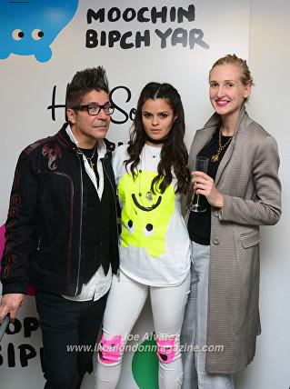 Joe Alvarez, Bip Ling, Tamara Orlova-Alvarez Happy Socks © Joe Alvarez