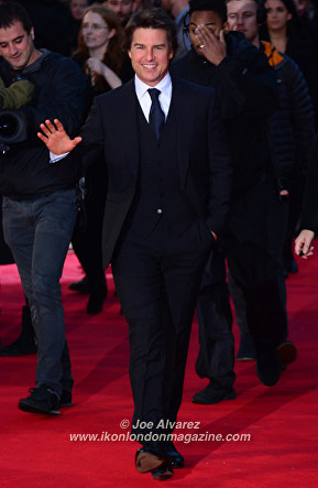 Tom Cruise Jack Reacher 2 Never Go Back London Premiere © Joe Alvarez