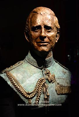 Bust of Prince Charles Frances Segelman © Joe Alvarez