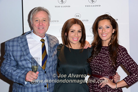 David Lloys, Teo Lloyd, Guest at Teo Lloyd Dolly Lloyd Store Anniversary Party © Joe Alvarez