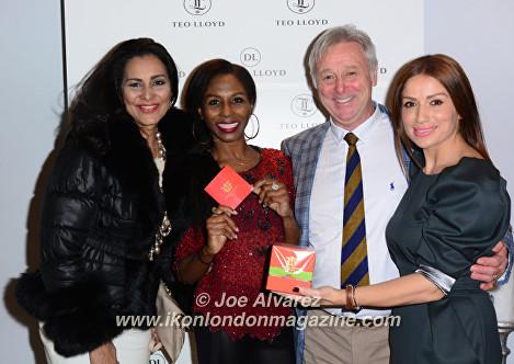 Wilnelia Merced ,David Lloyd, Sinitta at Teo Lloyd Store Anniversary Party © Joe Alvarez