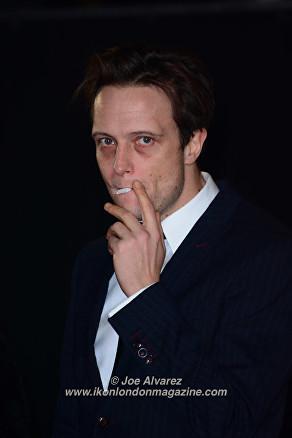 August Diehl at the London Premiere of The Allied © Joe Alvarez