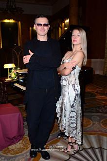 Actor Egor Beroev Scott Fitzgerald tribute play at Club Eclectique © Joe Alvarez