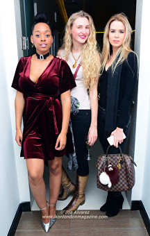 Imani Evans, Tamara Orlova-Alvarez, Olivia Arben Beauty & Melody Spa Launch Party © Joe Alvarez