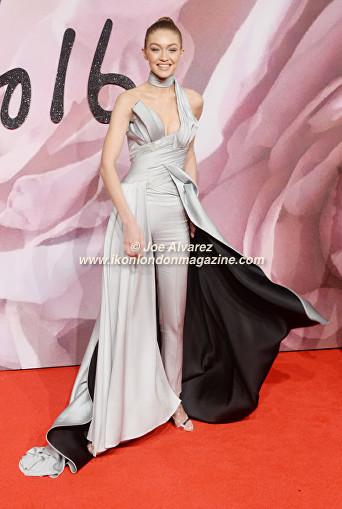 Gigi Hadid The Fashion Awards 2016 © Ikon London Magazine